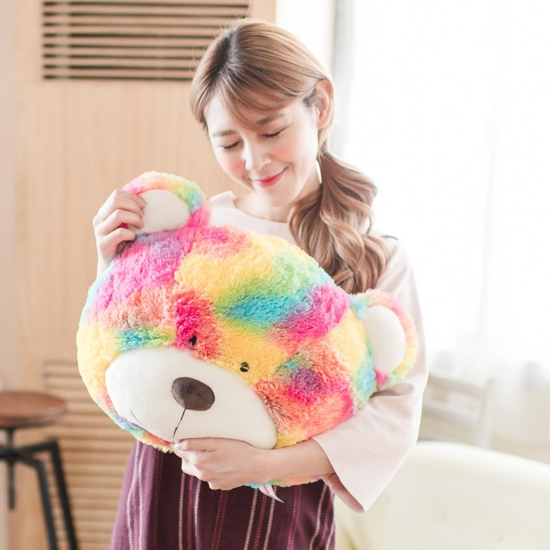 Candy Bear - Rainbow Bear Cushion