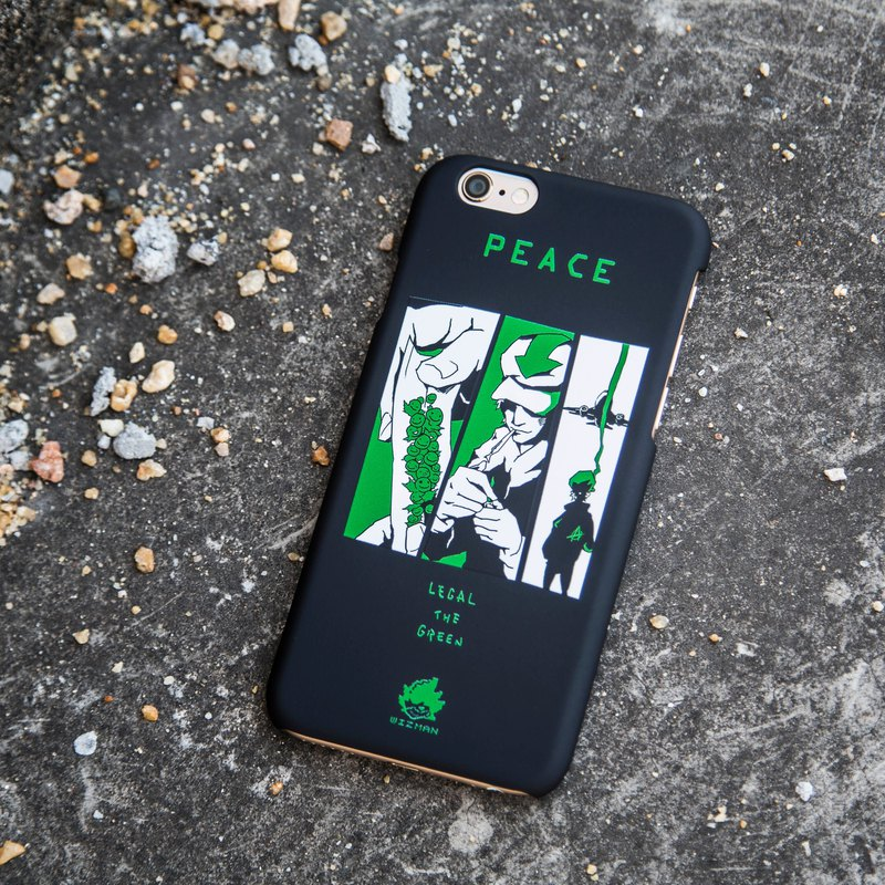 2018 WIZMAN  ILLUSTRATION PHONECASE