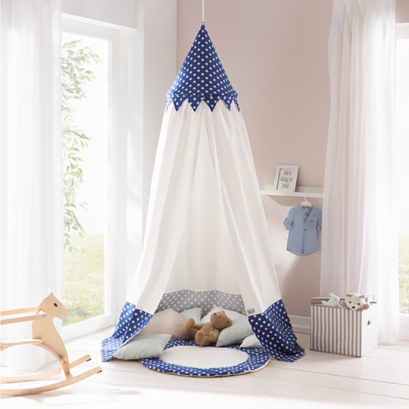 Stay with the stars all night. Canopy children's play tent