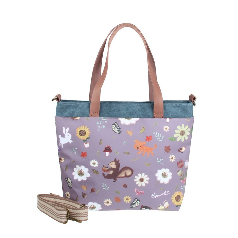 BS24601: Flowers matching with Canvas tote bag