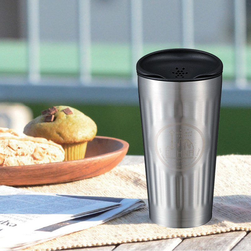 CB Japan Qahwa The third wave of smelly coffee accompanying coffee special cold insulation mug - cool silver