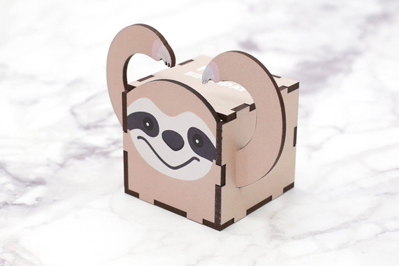 Sloth Music Bell Box - Birthday Gift for Adults