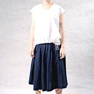 Wen Qing classic wear two knee skirts
