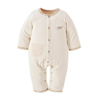 [SISSO organic cotton] cotton velvet moisture good warm double-layer rabbit 3M 6M