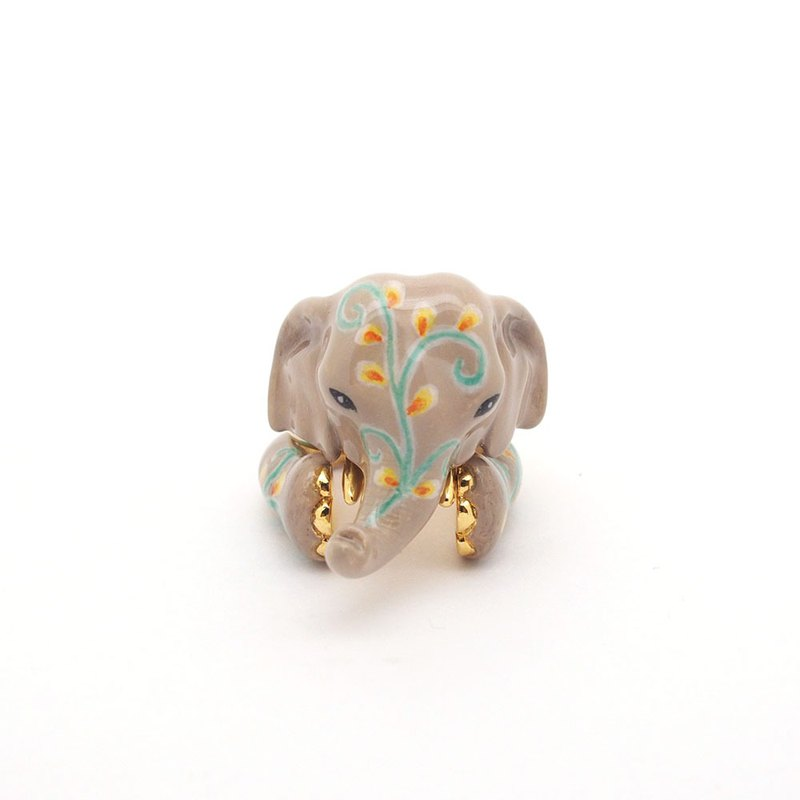 3-Piece  Elephant Rings.