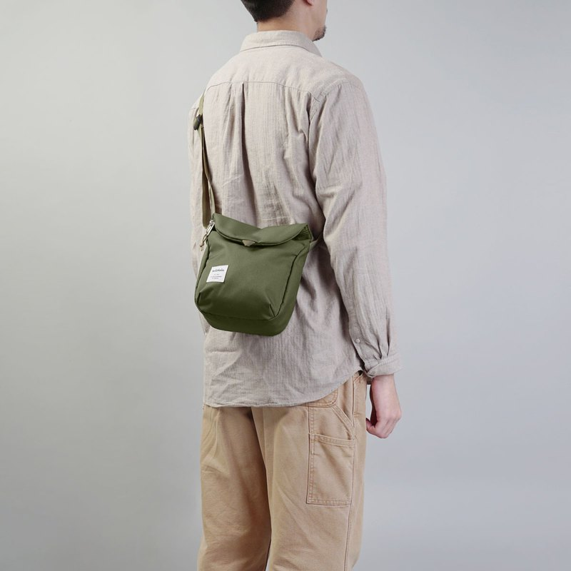 hellolulu DESI Casual Side Backpack-Olive Green