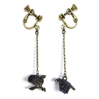 Crow Earrings EA 092