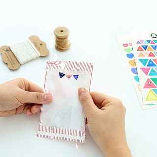 Livework-Somsom Geometric Sticker Set - Triangle, LWK37439