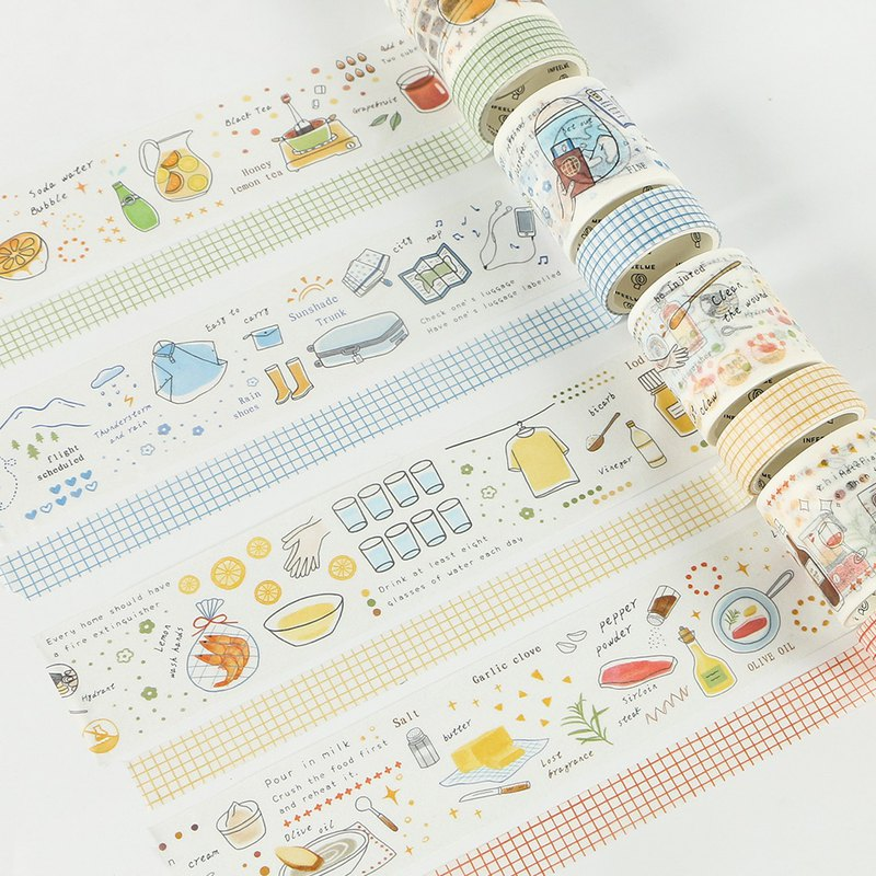 [papermore] small life series combination and paper tape PDA and paper tape