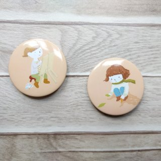 Picnic Girls / Badge Set
