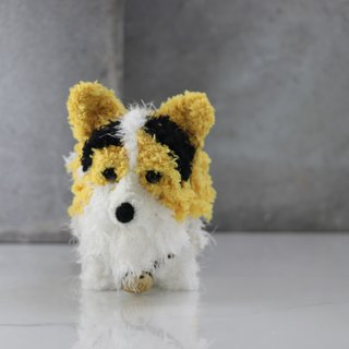 Pet avatar 13 ~ 15cm [feiwa Fei baby hand] Corgi pet doll (welcome to order your dog)