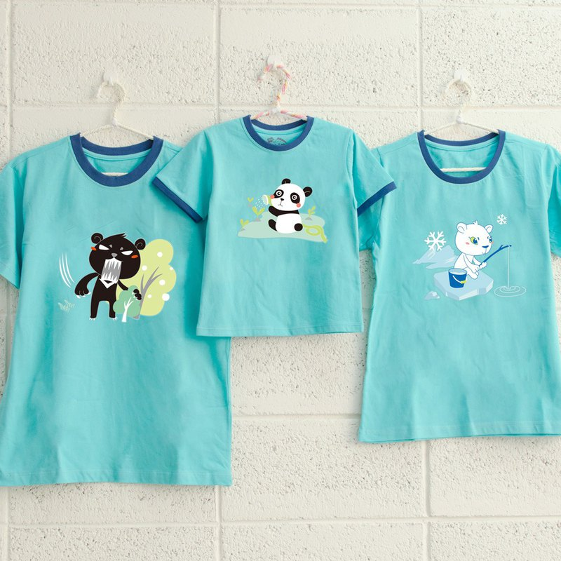 [Bear Bear Family] Warm Family Pack / Short Sleeve / Family Portrait