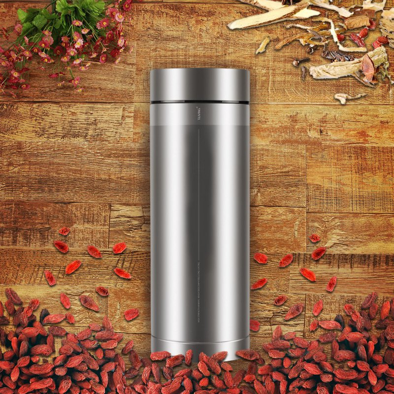 [Pure Titanium Products] Pure Titanium Body Tea Insulation Cup 400ml-Taiwan Limited Edition