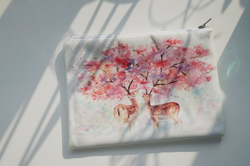 Multifunction Small Items Bag MB-005 Cherry Deer