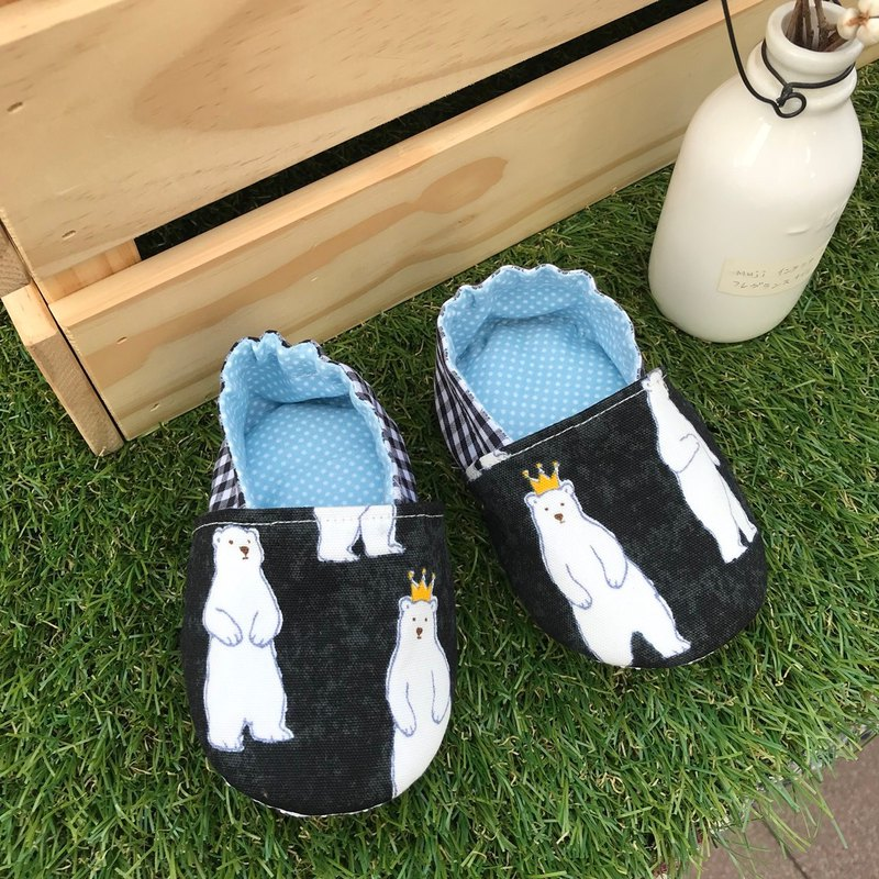 Cute polar bear toddler shoes