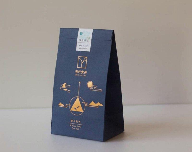 【原葉茶包】綜合茶包/體驗組合 (8種口味可自由搭配) 12入