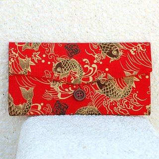 Phnom Penh carp red envelopes / pouch pocket