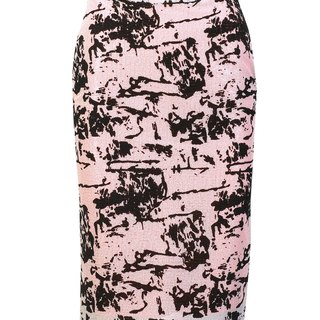 NO FIXED ABODE Designer Sequins Pencil Womens Skirt