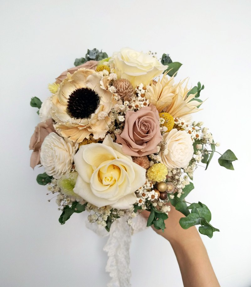 Mansen is not withered flowers / bridal bouquet / wedding reception