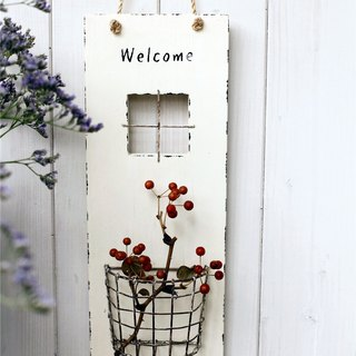 [Good day fetish] Miscellaneous Welkome welcome single-layer flower table ornaments