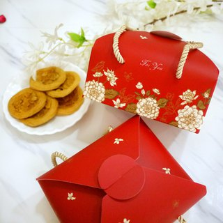 [Tower Fruit] Azure Blue Star - Royal Handmade Cookies Gift Box / Dessor with Hand Gift Box
