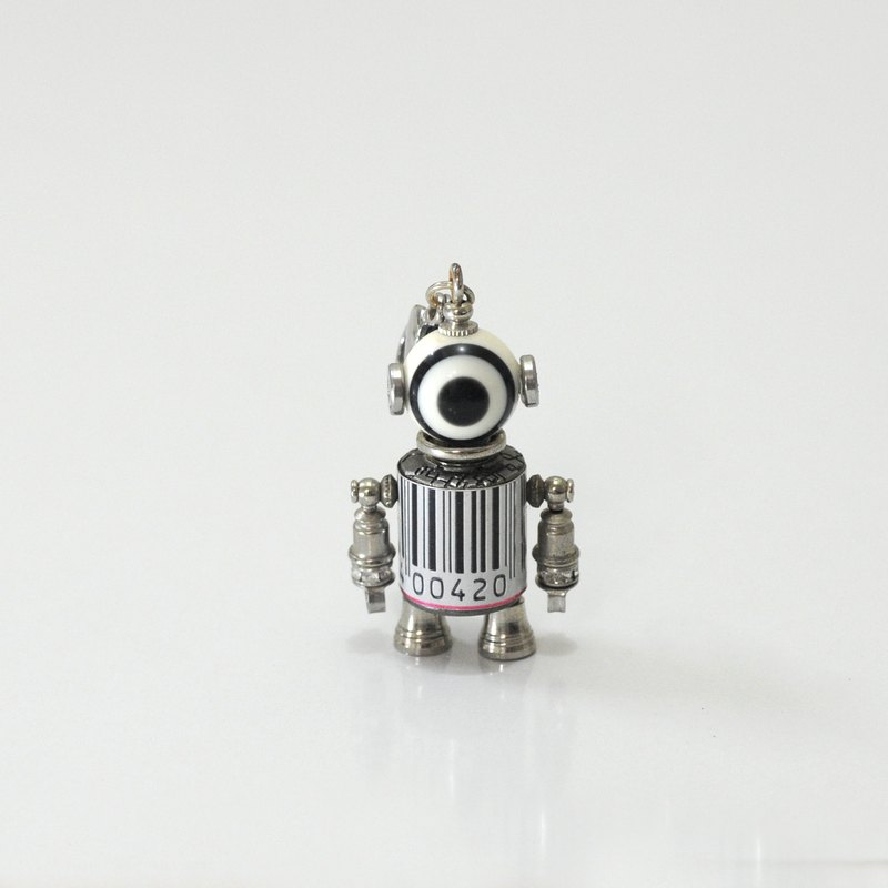 Millet Q10 Robot Necklace. Jewelry