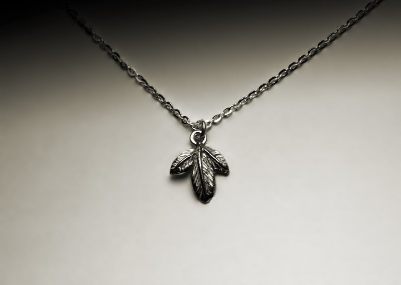"""Little Maple Leaf Necklace"""