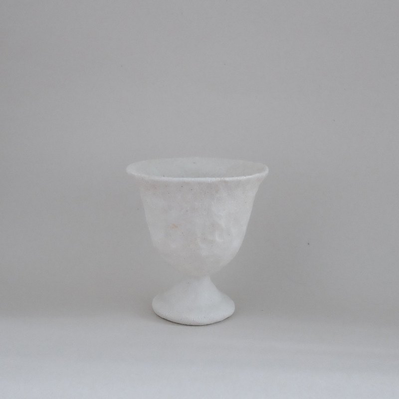 Vessel / pure white feel goblet