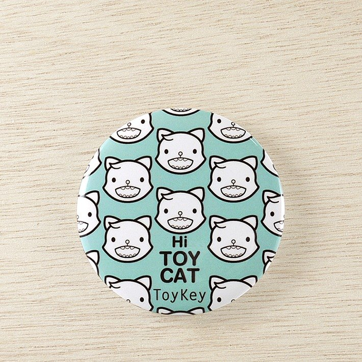 ToyKey toys ► Hi Hi Cat Haihai cat ◄ badge 8