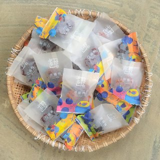Handmade stuffed plum - Fumei share package