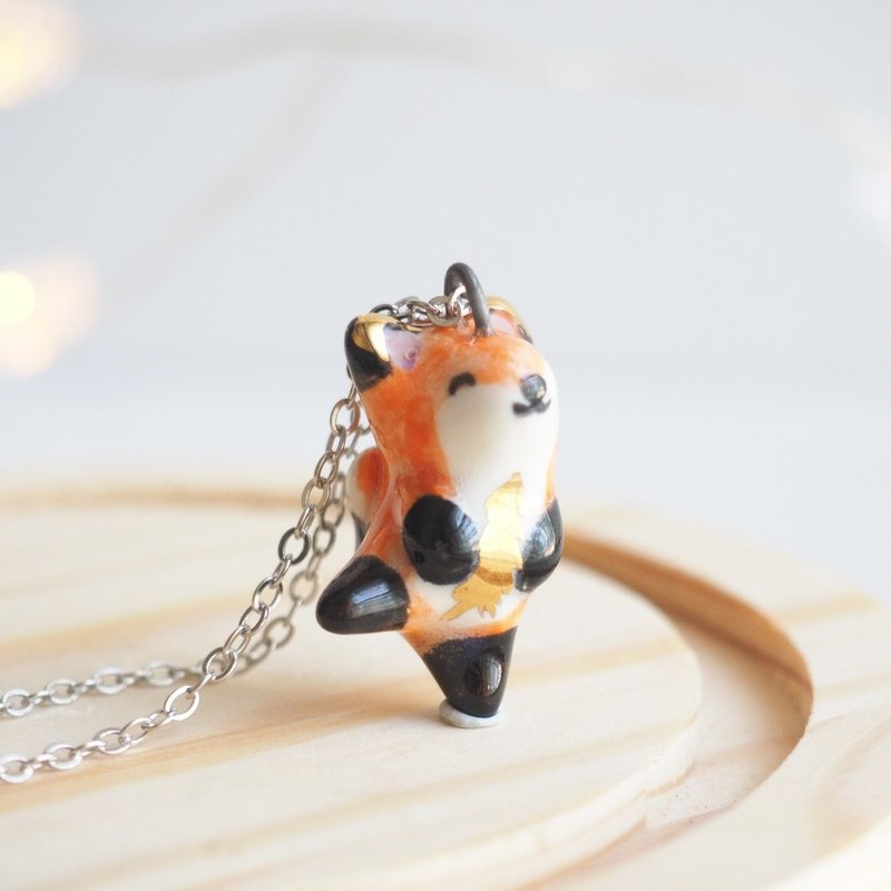 The Baby Fox Necklace