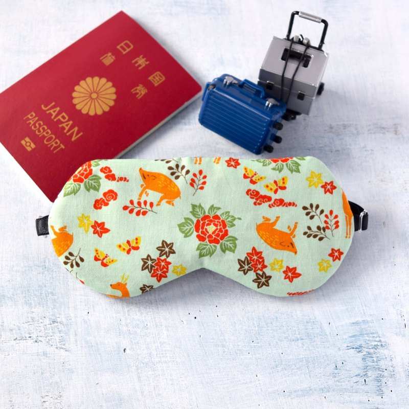 Autumn Colors /Green/sleep mask