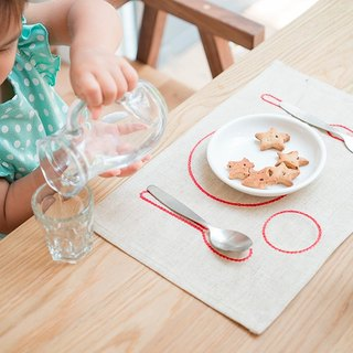 Kids Placemat + Fork + Spoon