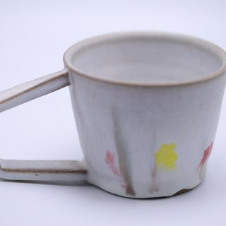 Full and comfortable - three color coffee cup