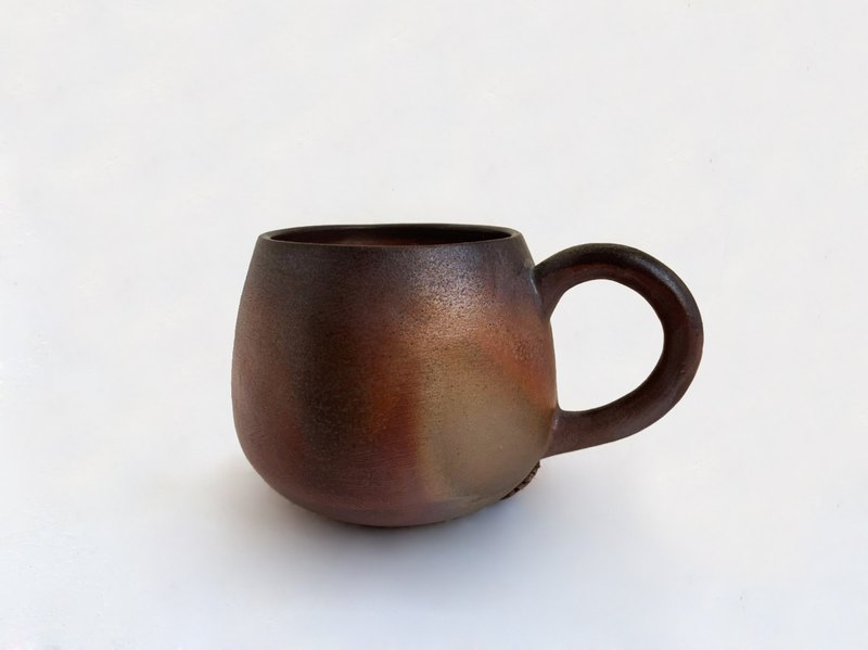 Firewood coffee cup