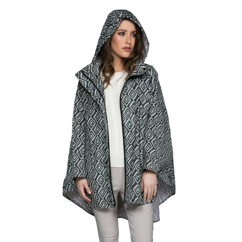 November Rain waterproof poncho - Starlight