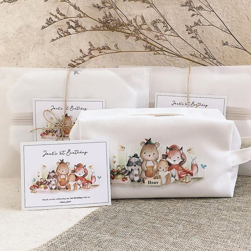 Premium Square Pouch Canvas 12pcs