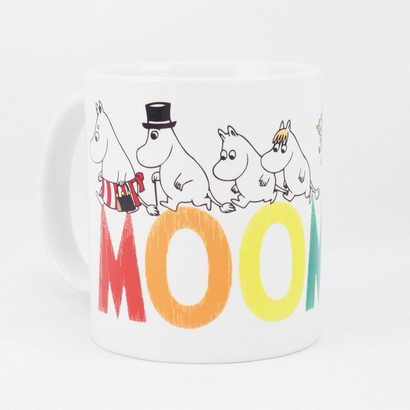 Moomin Moomin authorization - Mug: Happy family []