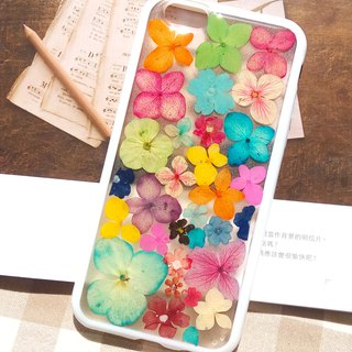 Pressed flowers phone case, iPhone 6, iPhone 6S