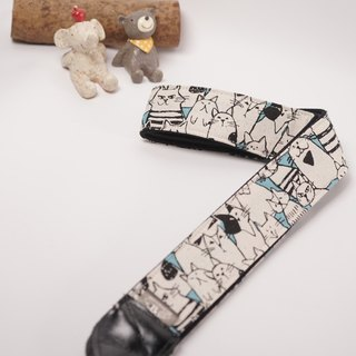 Pupp cat decompression strap camera strap Ukulele Camera Strap