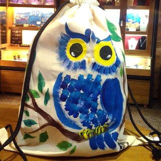 Painted owl Winwing painted single beam port after rucksack