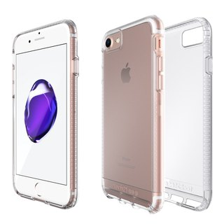 British super Tech21 Impact Impact Clear iPhone 7 crash hard transparent protective shell (5055517362207)