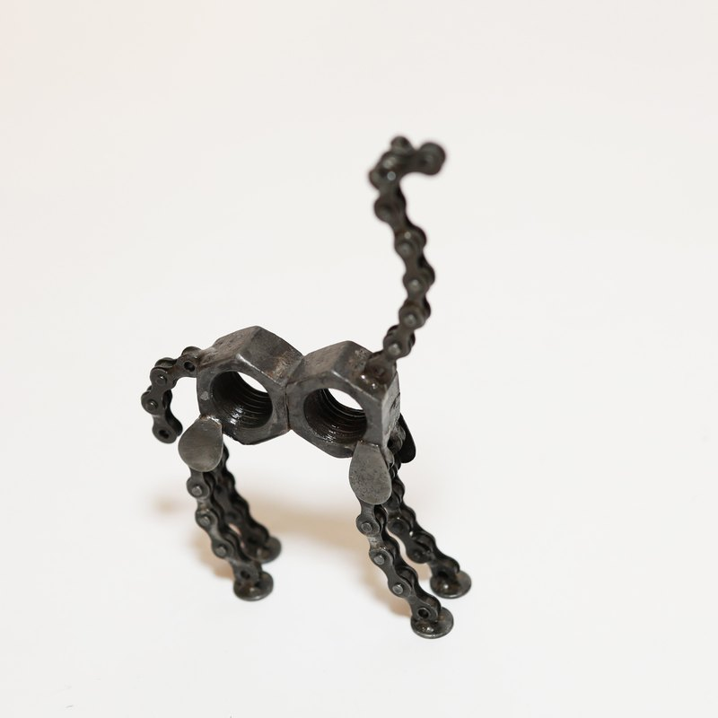 Recycling Metal Animals - Camel - Fair Trade
