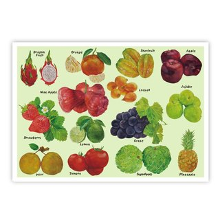 I Love Taiwan Postcards ● Taiwanese Fruit 2