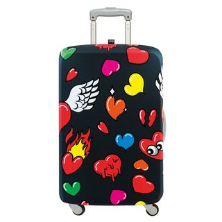 LOQI suitcase jacket / love 【M】