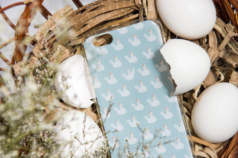 Blue chicken original phone shell supports a variety of models