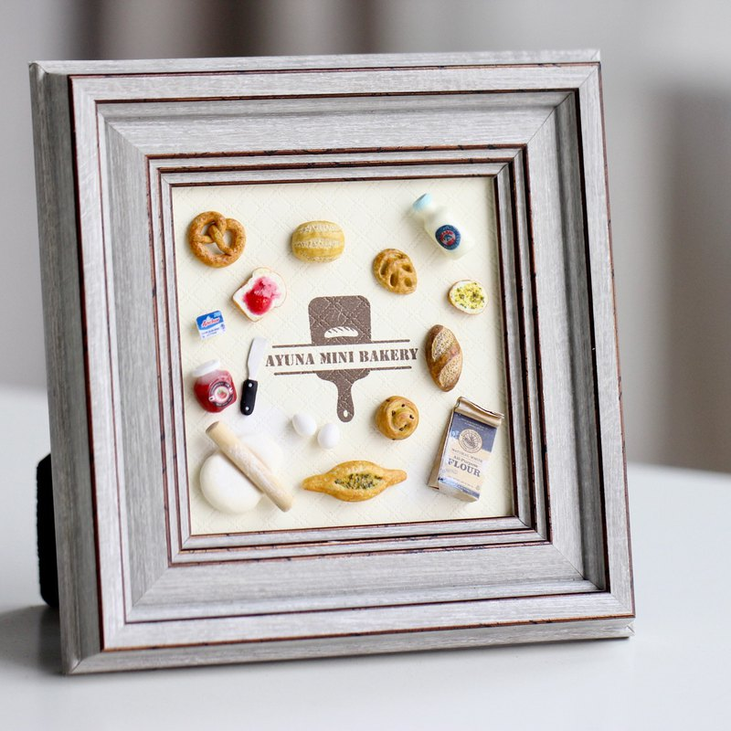 Miniature Bakery Frame Grocery Decoration Birthday Gift