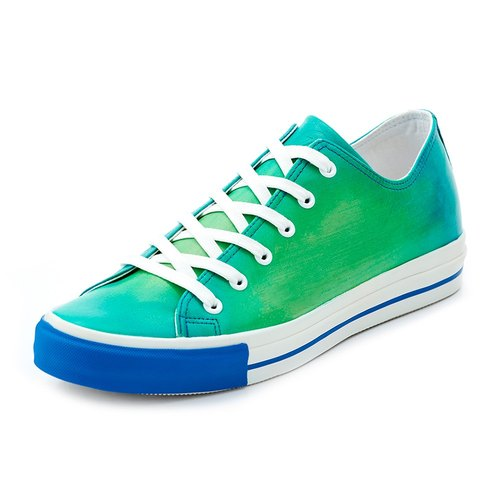 【PATINAS】NAPPA Sneakers – Turquoise