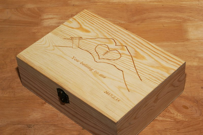 [Additional purchase] custom wooden box pattern