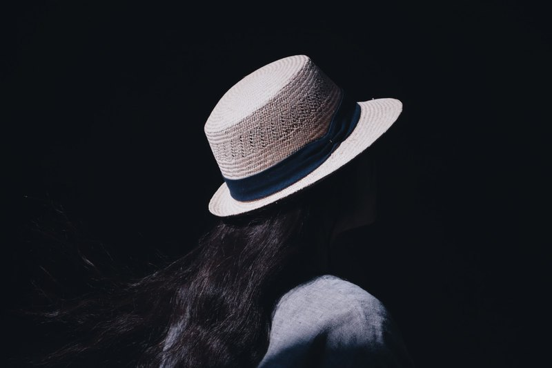 Classic jazz hat - dark blue